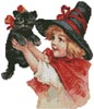 Mini Halloween 1 - Cross Stitch Chart