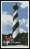 Mini St Augustine Lighthouse - Cross Stitch Chart