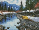 Montana Stream - Cross Stitch Chart