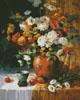 Mums and Persimmons - Cross Stitch Chart