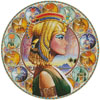 Nefertari Circle (Right) - Cross Stitch Chart