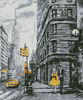 New York Abstract (Crop) - Cross Stitch Chart