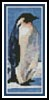 Penguin Bookmark - Cross Stitch Chart