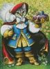 Puss in Boots Painting - Cross Stitch Chart