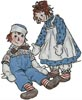 Raggedy Ann and Andy - Cross Stitch Chart