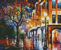 Rain in Miami (Large) - Cross Stitch Chart