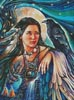 Raven Maiden - Cross Stitch Chart