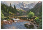 Rocky Mountain Grandeur - Cross Stitch Chart