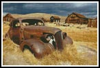 Rusty Car - Cross Stitch Chart