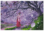 Sakura Kaze - Cross Stitch Chart