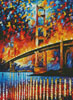 San Francisco Golden Gate (Large) - Cross Stitch Chart