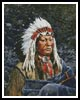 Sioux Chief - Cross Stitch Chart