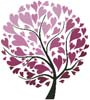 Spring Tree of Hearts - Cross Stitch Chart