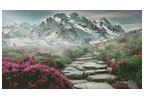 Stairway to the Mountains - Cross Stitch Chart