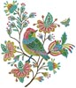 Stitchbird Titmouse - Cross Stitch Chart