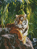 Sumatran Tigress - Cross Stitch Chart