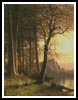 Sunset in Yosemite - Cross Stitch Chart