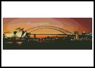 Sydney Harbour at Night - Cross Stitch Chart