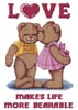 Teddy Love - Cross Stitch Chart