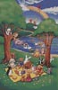 Teddy and Friends Picnic - Cross Stitch Chart