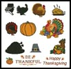 Thanksgiving Motifs - Cross Stitch Chart