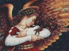The Angel and the Dove - Cross Stitch Chart