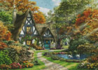 The Autumn Cottage (Large) - Cross Stitch Chart