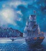 The Call of the Moon (Crop) - Cross Stitch Chart