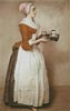 The Chocolate Girl 2 (Large) - Cross Stitch Chart