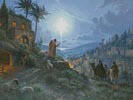 The Light of the World Painting - Cross Stitch Chart
