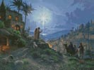The Light of the World Painting (Large) - Cross Stitch Chart