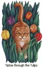 Tiptoe through the Tulips - Cross Stitch Chart