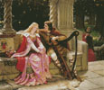 Tristan and Isolde - Cross Stitch Chart