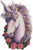 Unicorn Cameo - Cross Stitch Chart