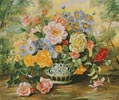 Vintage Blooms - Cross Stitch Chart