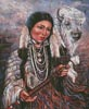 White Buffalo Woman - Cross Stitch Chart