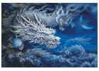 White Dragon - Cross Stitch Chart